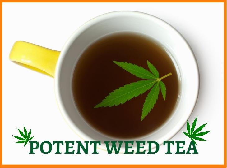 Potent Weed Tea