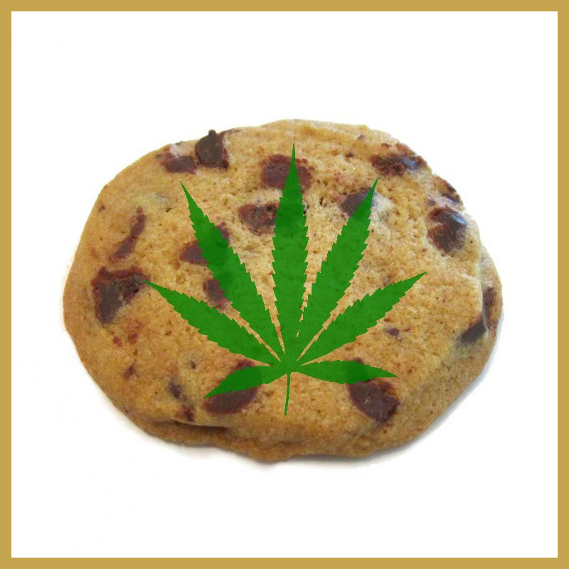 Cannabis Chocolate Chip Cookie