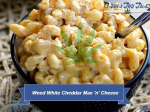 Weed White Cheddar Mac 'n' Cheese