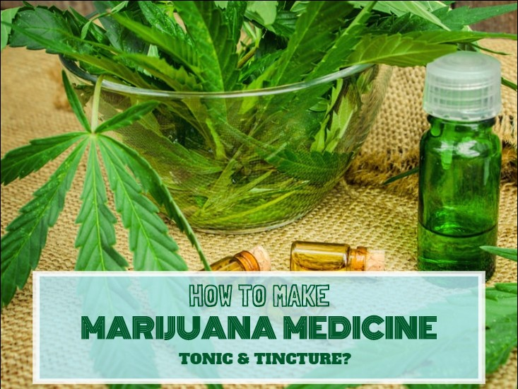 Marijuana Medicine Tonic