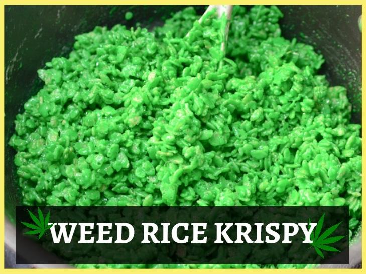 Weed Rice Krispy