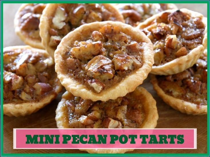 Mini Pecan Pot Tarts