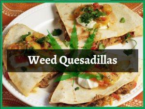 Weed Quesadillas
