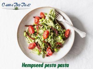Hempseed Pesto Pasta