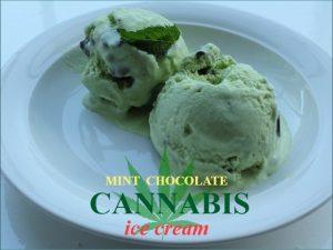 Mint Chocolate Cannabis Ice Cream