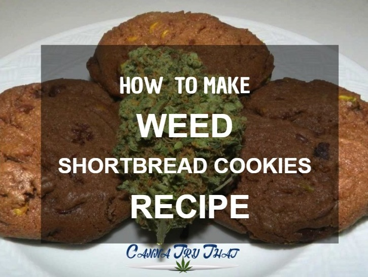 Weed Shortbread Cookies