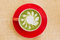 Weed Infused Matcha Tea